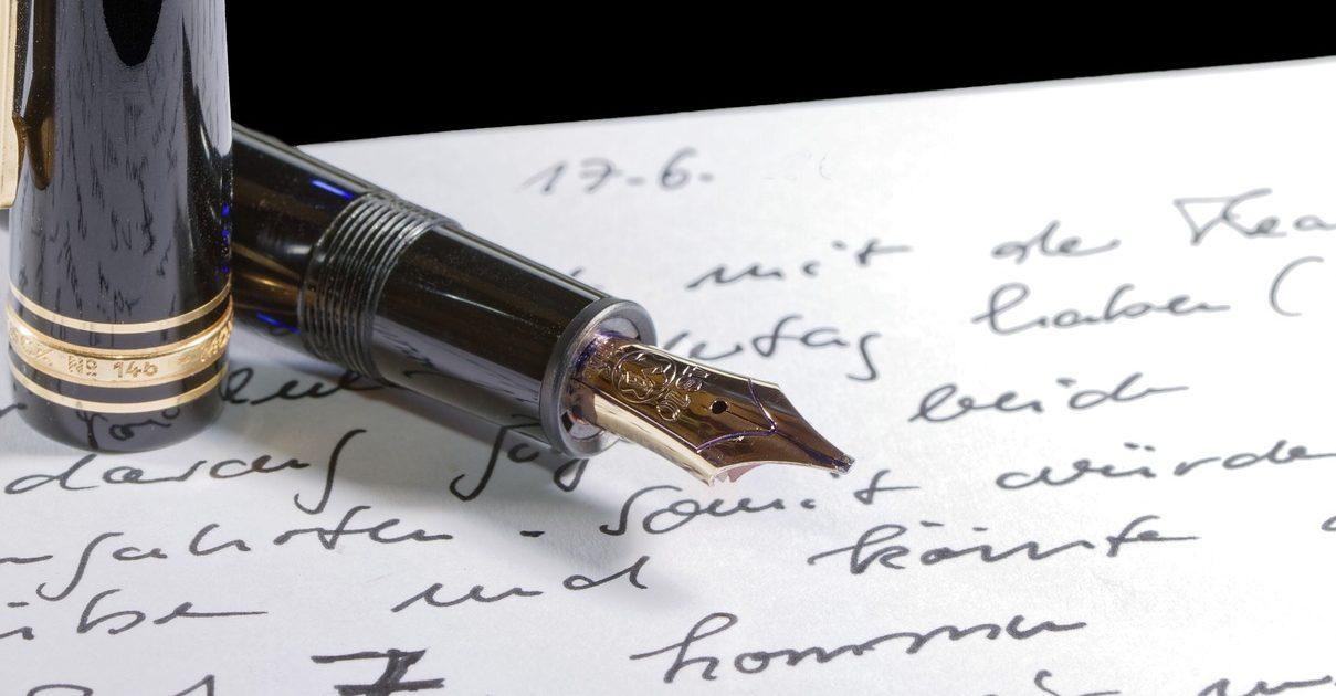 Self-knowledge through handwriting